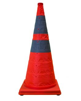 TRAFFIC CONE COLLAPSIBLE REFLECTIVE