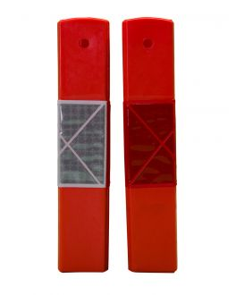 STAR PICKET SAFETY SLEEVE (RED/WHITE)