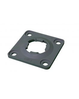 TURN AND LOCK SURFACE MOUNT BASE PLATE