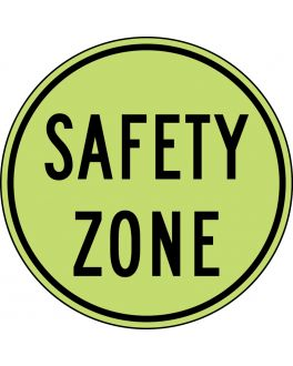 SAFETY ZONE YEL/GRN