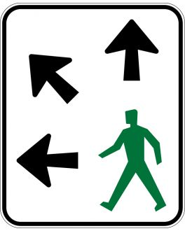 PEDESTRIANS MAY CROSS