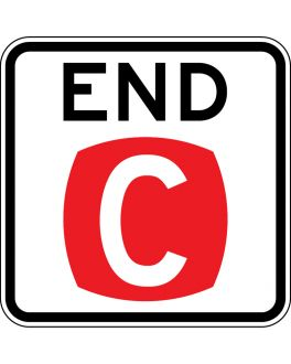 END CLEARWAY