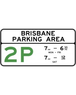 PARKING AREA (MAJOR ROAD) WITH LOCALITY NAME
