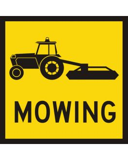 TRACTOR/SLASHER MOWING