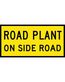 ROAD PLANT ON SIDE ROAD
