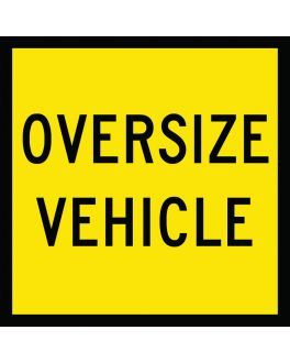 OVERSIZE VEHICLE