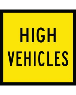 HIGH VEHICLES