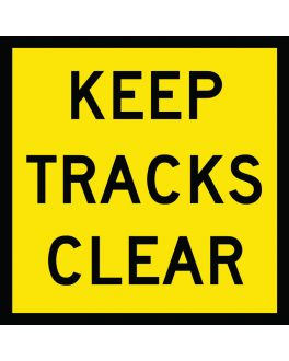 KEEP TRACKS CLEAR