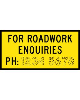 FOR ROADWORK ENQUIRIES