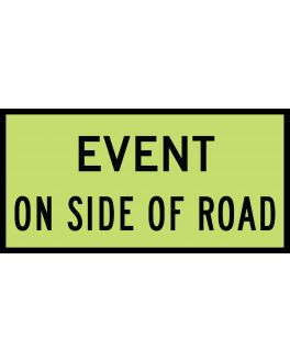 EVENT ON SIDE ROAD