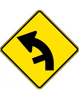 SIDE ROAD JUNCTION ON A CURVE
