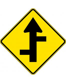 STAGGERED SIDE ROAD JUNCTION