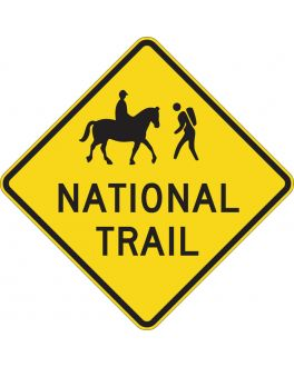 NATIONAL TRAIL (WITH SYMBOLS)
