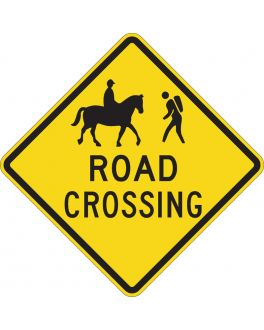 ROAD CROSSING  (WITH SYMBOLS)