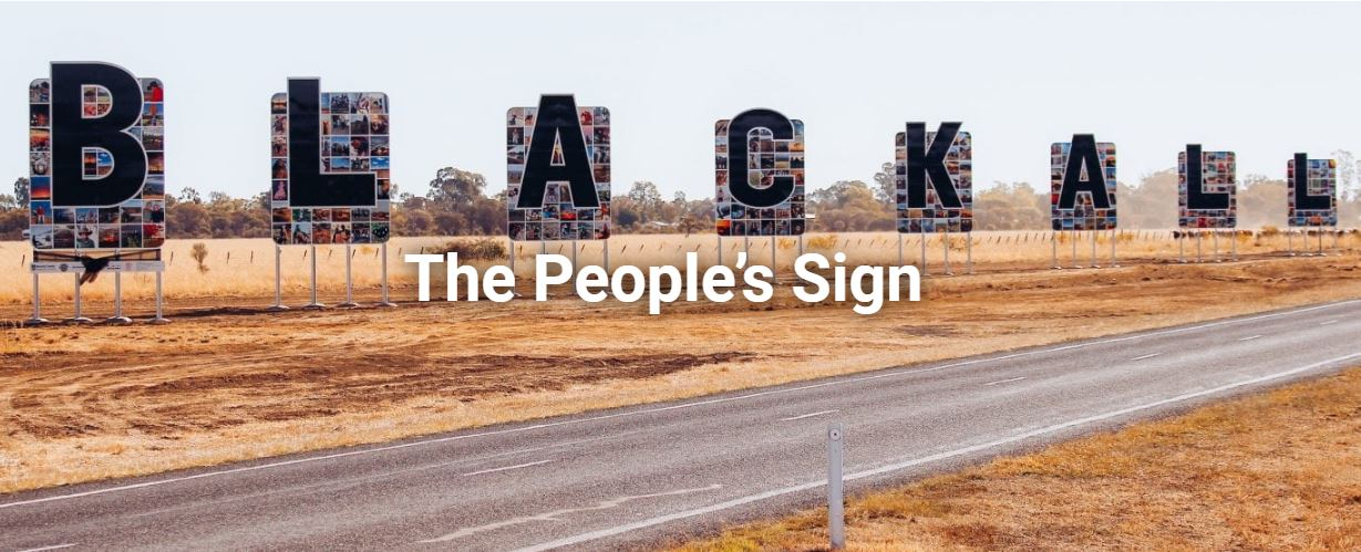 The People's Sign of Blackall
